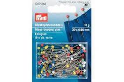 Prym Glaskopf-Stecknadeln - Bunt - 10 g