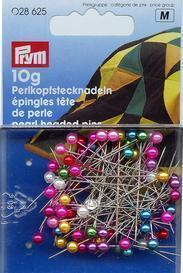 Prym - Perlkopf-Stecknadeln - Bunt - 10 g