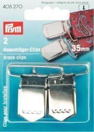 Prym - 2 Hosenträger-Clips 35 mm