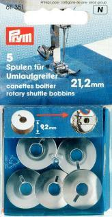 Prym - Metallspulen - 21,2 mm