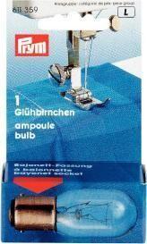 Prym - Glühbirnchen Bajonett für Nähmaschine