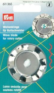 Prym - Wellenklinge für Rollschneider 45 mm