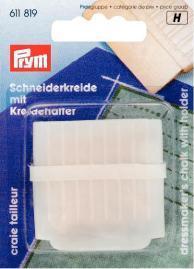 Prym - Schneiderkreide mit Halter - Weiß