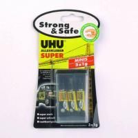 UHU - ALLESKLEBER - SUPER - Strong & Safe MINIS - 3 x 1 g