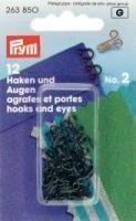 Federhaken - Schwarz