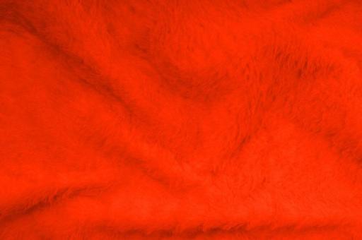 Kuschelfell-Imitat - Uni Neon-Orange
