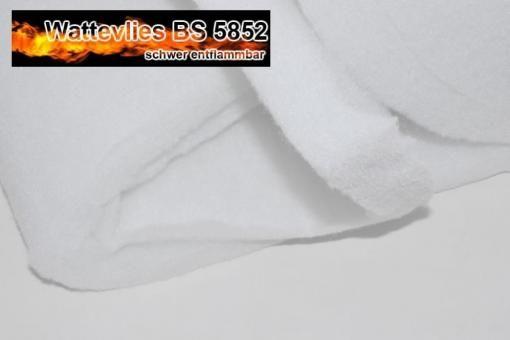 Polster Wattevlies 4 cm stark - schwer entflammbar