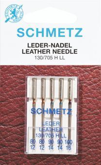 Nähmaschinen-Ledernadeln - 130/705H 80-100