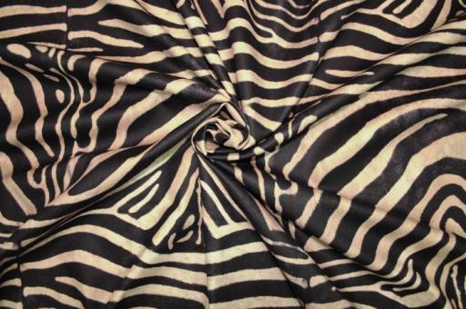 Wildleder-Imitat - Wilderness Zebra