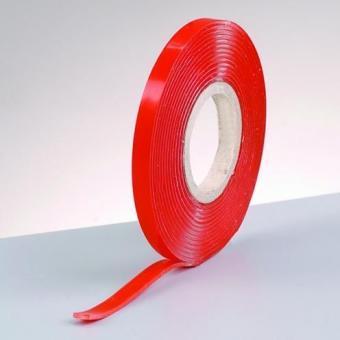 Abstandklebeband extra stark - doppelseitig - 5 mm x 1 mm x 2 m - 1 Stk. - Transparent