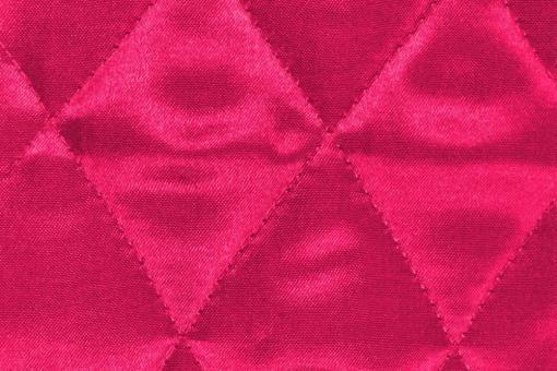 Satin-Watte-Stoff - gesteppt Pink