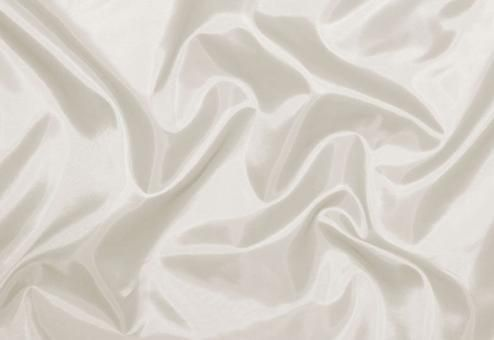 Viskose-Taft Wollweiß