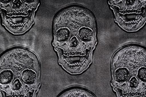 Kunstleder Skull