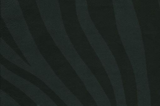 Echtleder - Zebra-Muster Schwarz