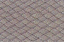 Acryl-Einfassband - 2,5 cm - Meterware Grau
