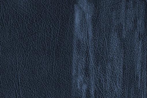 Echtleder - Chesterfield-Effekt Blau