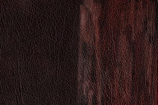 Echtleder - Chesterfield-Effekt Rotbraun
