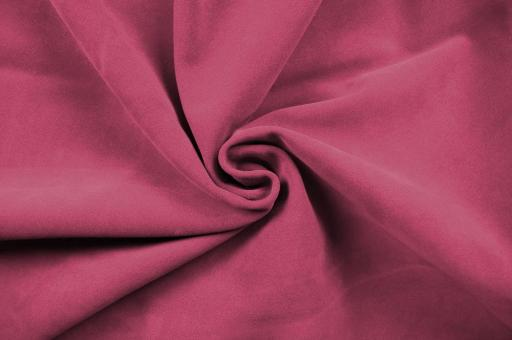 Echtleder Stück Velours -  Rocky Mountain Pink
