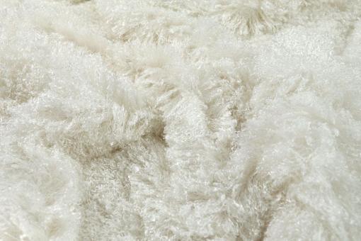 Pudelfell - Weiß