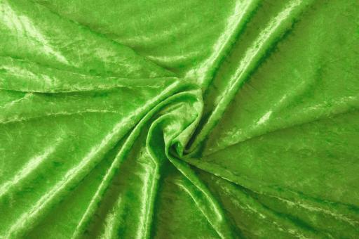 Pannesamt-Stoff - Select Hellgrün