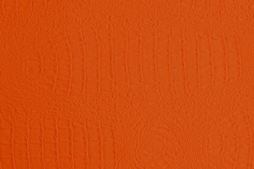 Lederimitat - Waterproof - Krokodil Orange