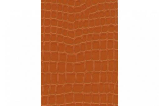 Leder-Imitat Waterproof - Riesenschlange Cognac