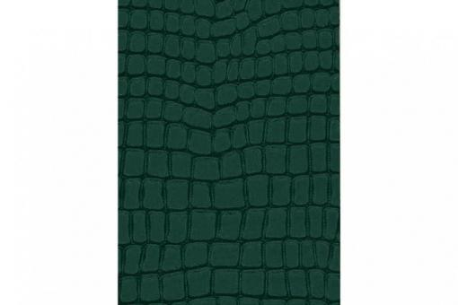 Leder-Imitat Waterproof - Riesenschlange Moosgrün