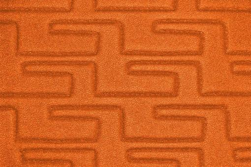Kunstleder - Waterproof - Luxor Orange