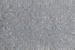 25 m nähbares Flauschband - 3 cm breit Silber