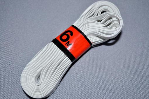 6 m Elastikband - 0,6 cm