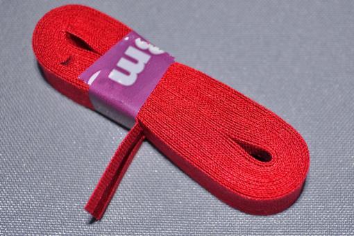 3 m Baumwoll-Schrägband - 3,5 cm Rot
