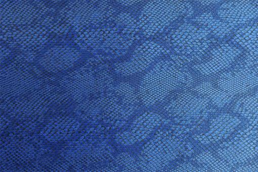 Leder-Imitat Waterproof - Boa Blau