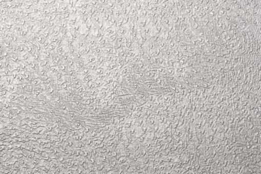 Leder-Imitat Waterproof - Baby-Strauß Silber glänzend