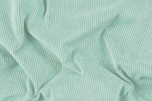 Möbelstoff Cord-Samt - Longlife Mint