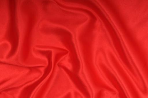 Satin-Stoff - Select Rot