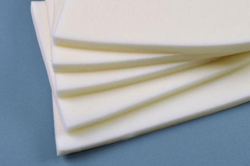 Schaumstoff weich - 40 x 40 cm - Stärke 3 cm