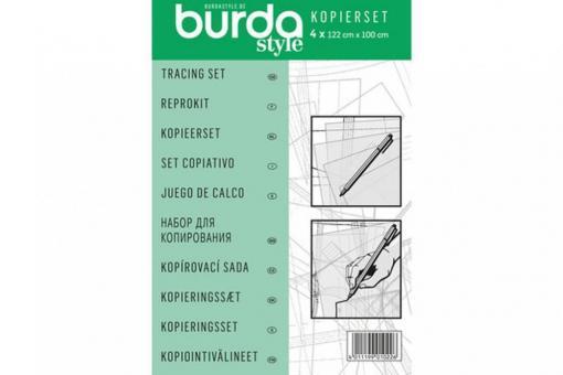 Burda Kopierset - Stift und Folie