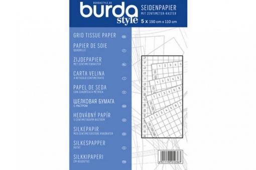 Burda Seidenpapier Zentimeter-Raster