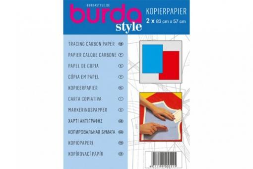 Burda Kopierpapier - Blau/Rot