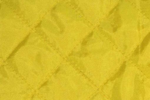 Taft-Watte-Stoff - gesteppt Gelb