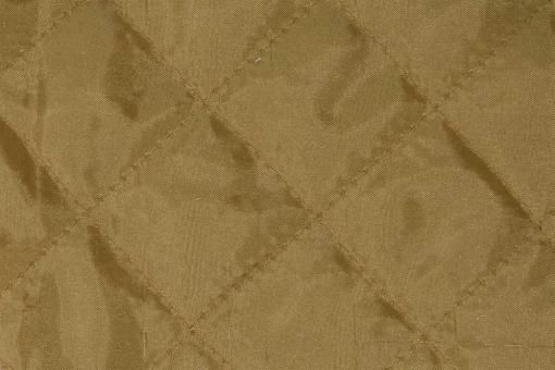 Taft-Watte-Stoff - gesteppt Gold