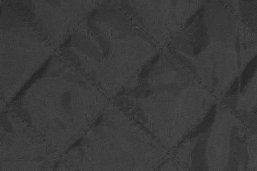 Taft-Watte-Stoff - gesteppt Grau
