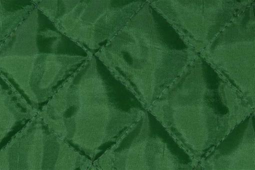 Taft-Watte-Stoff - gesteppt Grün