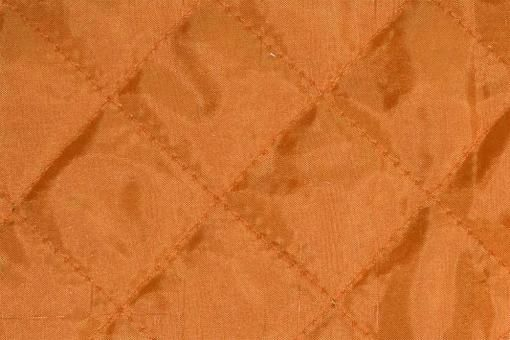 Taft-Watte-Stoff - gesteppt Orange