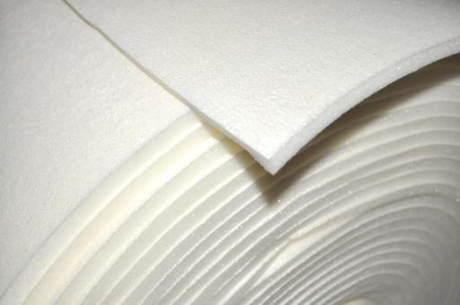Schaumstoff 150 cm Meterware - 15 mm