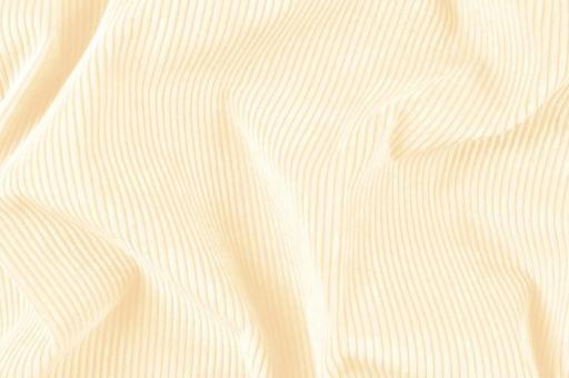 Möbelstoff Cord-Samt - Longlife Wollweiß