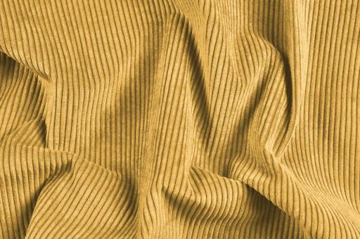 Möbelstoff Cord-Samt - Longlife Beige