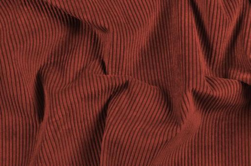 Möbelstoff Cord-Samt - Longlife Bordeaux
