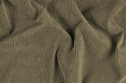 Möbelstoff Cord-Samt - Longlife Taupe