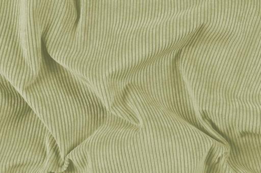 Möbelstoff Cord-Samt - Longlife Lindgrün